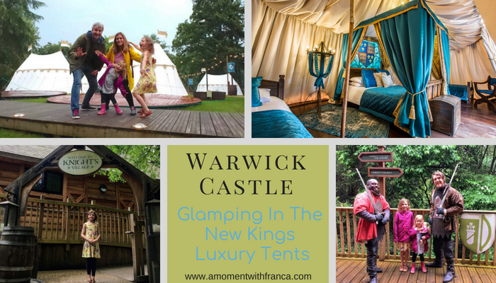 Warwick Castle Glamping In The New Kings Luxury Tents