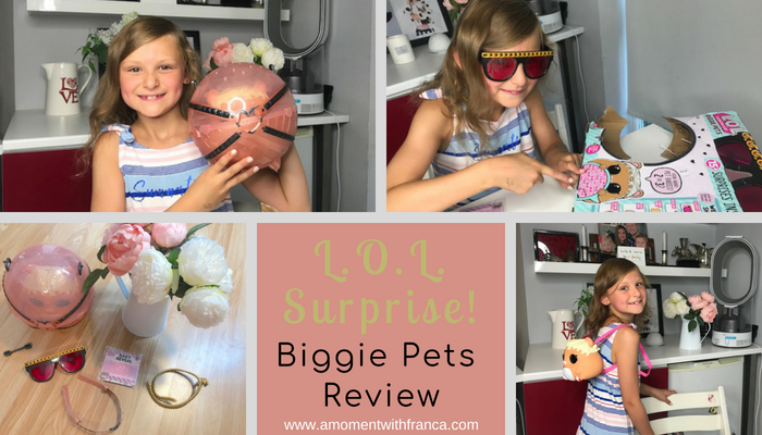 L.O.L. Surprise! Biggie Pets Review