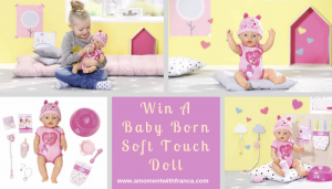 Win A Baby Born Soft Touch Doll