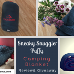 Montem Sneaky Snuggler Puffy Camping Blanket Review & Giveaway