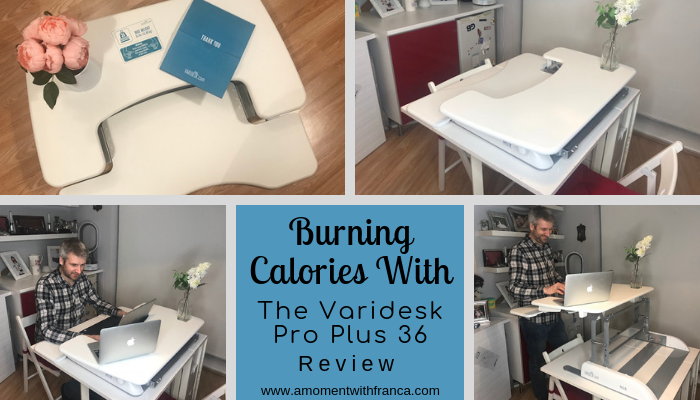 Burning Calories With The Varidesk Pro Plus 36 – Review