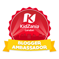 KidZania Blogger Ambassador Badge