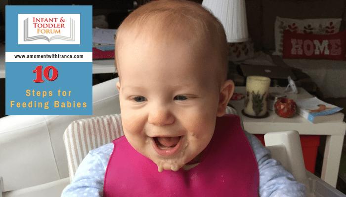 Ten Steps for Feeding Babies
