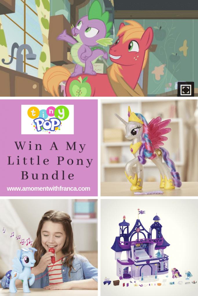 win an amazing my little pony bundle watch now on tiny pop a