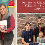 Our Day at Kidzania London STEM Fair & Christmas Activities