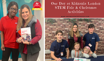 Our Day at Kidzania London STEM Fair & Christmas Activities