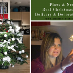 Pines & Needles Real Christmas Trees -- Delivery & Decorating Service