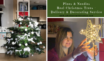 Pines & Needles Real Christmas Trees – Delivery & Decorating Service