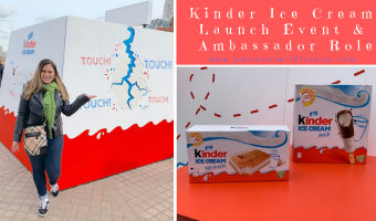 Kinder Ice Cream Launch Event & Ambassador Role
