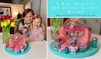 L.O.L. Surprise! DIY Glitter Factory Review