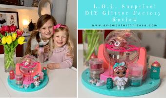 L.O.L. Surprise! DIY Glitter Factory Review