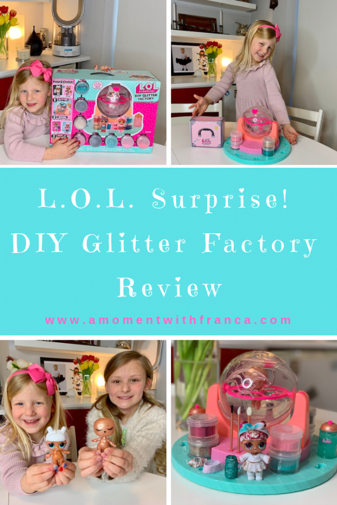 Lol Surprise Diy Glitter Factory Review A Moment With Franca