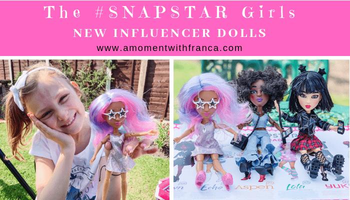 The #SNAPSTAR Girls  –  New Influencer Dolls