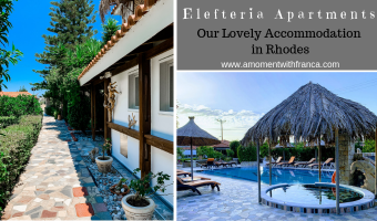 Elefteria Apartments – Our Lovely Accommodation in Rhodes