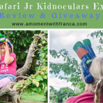 GeoSafari Jr Kidnoculars Extreme Review & Giveaway
