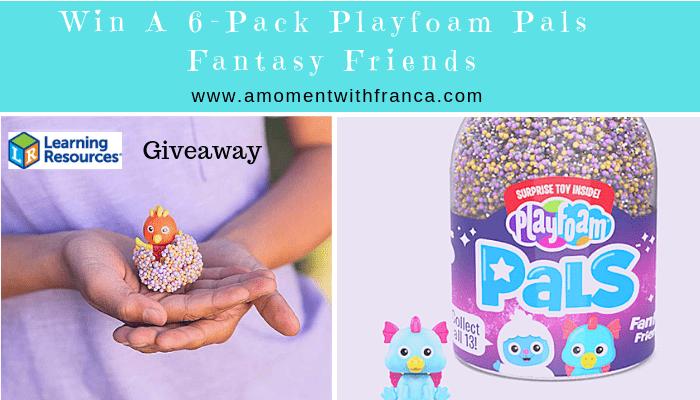 Win A 6-Pack Playfoam Pals Fantasy Friends