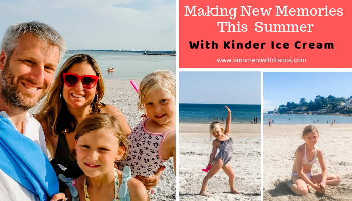 Making New Memories This Summer With Kinder Ice Cream