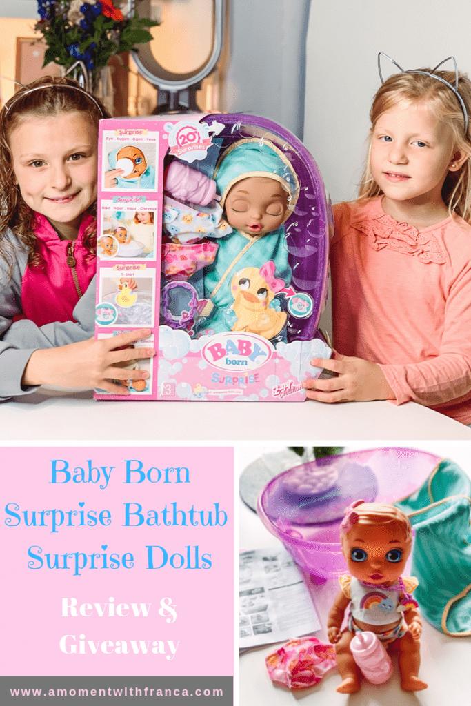 Baby Alive Bath Tub.Baby Born Surprise Bathtub Surprise Dolls Review