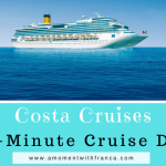 Last-Minute Cruise Deals With Costa Cruises