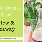 Organic Aromas Diffuser Review & Giveaway