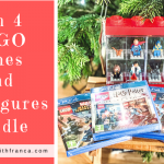 Win 4 LEGO Games And Minifigures Bundle