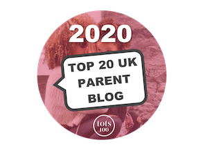 Top 20 UK Parent Blog 2020
