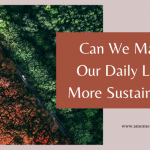 Can We Make Our Daily Lives More Sustainable?